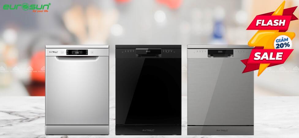 Máy rửa bát âm tủ EUROSUN