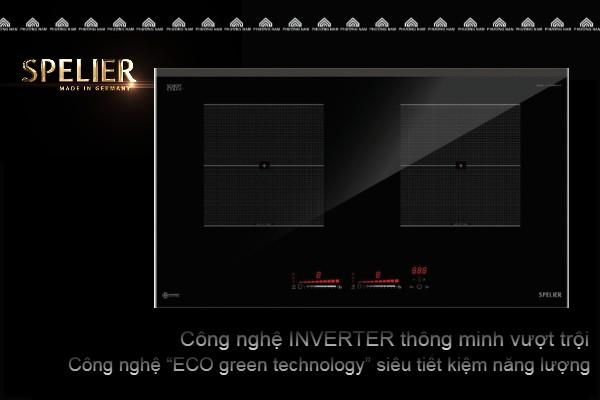 Bếp Từ Đôi SPE IC 1089 EG siêu tiết kiệm điện