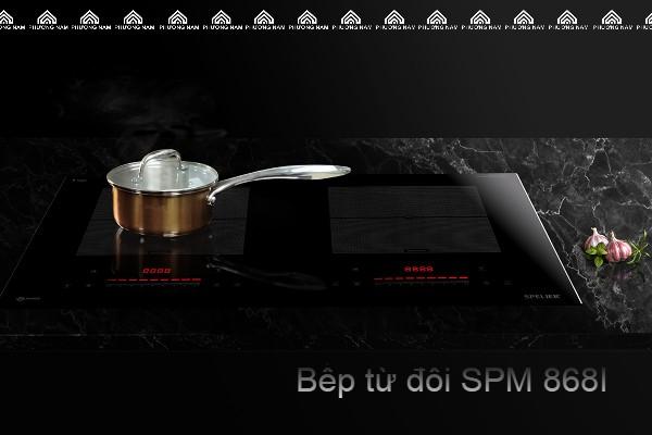 Bếp từ đôi SPELIER SPM- 868I giá rẻ tại Bếp Phương Nam