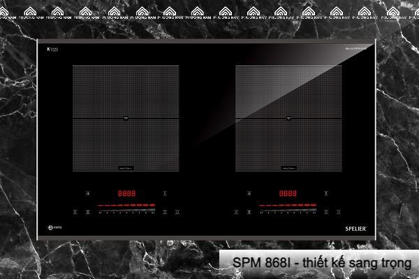 SPM 868I - Thiết kế sang trọng, tinh tế