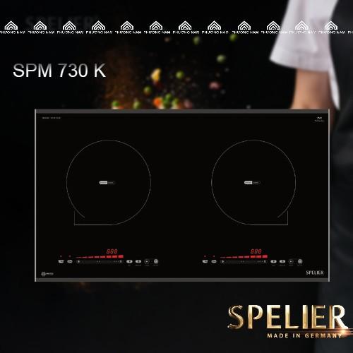 Bếp từ đôi SPELIER SPM 730 K giá rẻ tại Bếp Phương Nam