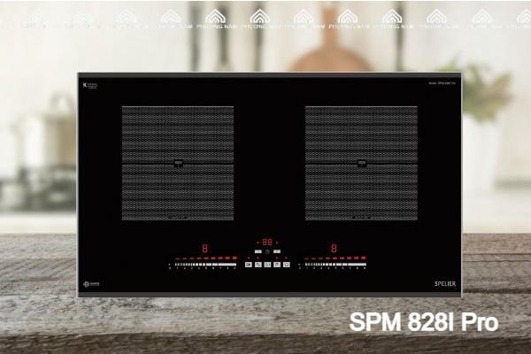 Bếp từ đôi Spelier SPM 828I Pro - Bếp Phương Nam