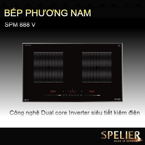 Bếp từ đôi SPELIER SPM 888 V - siêu tiết kiệm điện