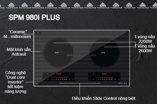 Đặc điểm của Bếp từ đôi SPELIER SPM 980I PLUS