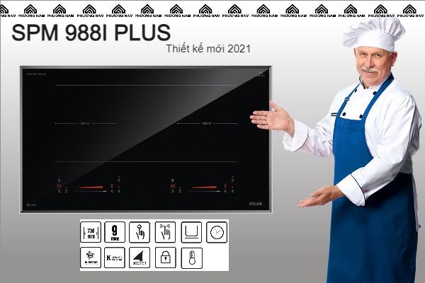 Bếp từ đôi SPELIER SPM 988I PLUS - Bếp Phương Nam