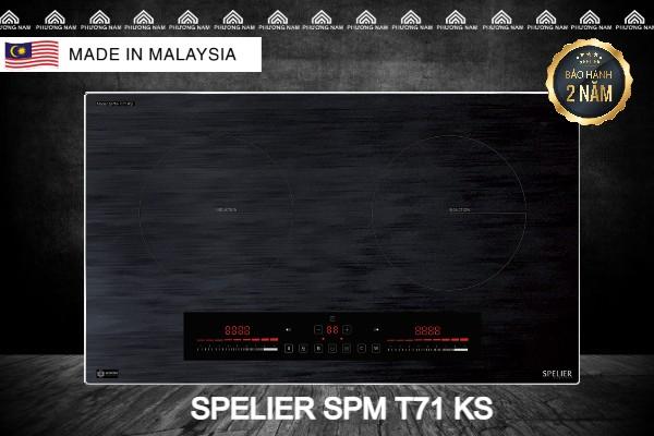 Bếp từ đôi SPELIER SPM T71 KS - Bếp Phương Nam