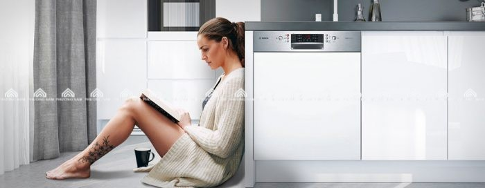Máy rửa bát âm tủ Bếp Phương Nam