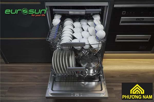 Máy Rửa Bát EUROSUN SMS80EU16E serial 7 dung tích lớn, tiện nghi