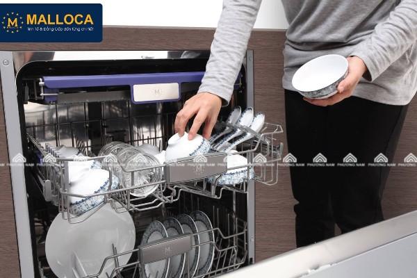 Máy rửa bát âm tủ MALLOCA