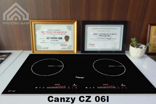 Bếp từ Canzy CZ 06I chính hãng giá tốt