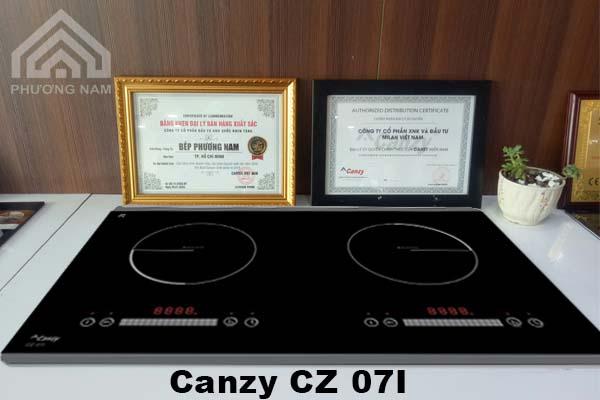Bếp từ Canzy CZ 07I chính hãng giá tốt