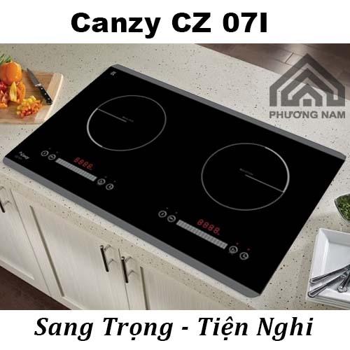 Bếp từ Canzy CZ 07I đẹp sang trọng