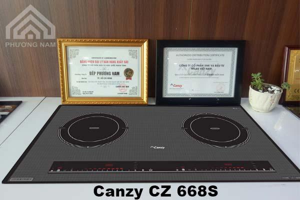 Bếp Từ Canzy CZ 668S chính hãng giá tốt - Bếp Phương Nam