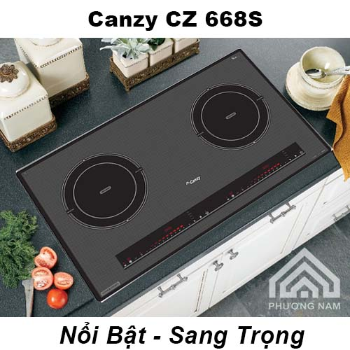 Bếp Từ Canzy CZ 668S khuyến mãi giảm giá - Bếp Phương Nam