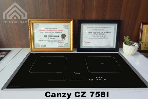 Bếp từ Canzy CZ 758I chính hãng giá tốt
