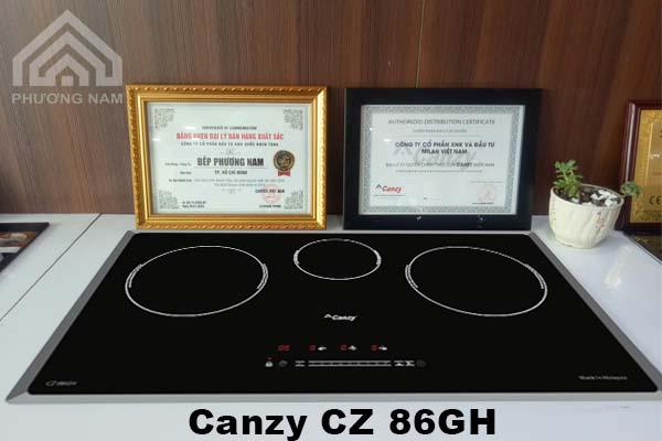 Bếp từ Canzy CZ 86GH chính hãng giá tốt - Bếp Phương Nam