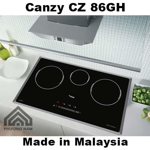 Bếp từ Canzy CZ 86GH tiện nghi an toàn - Bếp Phương Nam