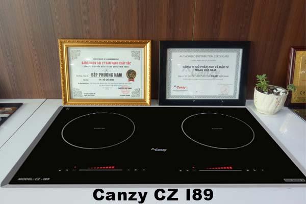 Bếp từ Canzy CZ I89 chính hãng giá tốt