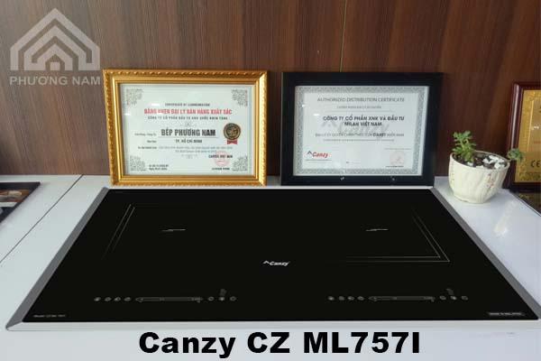 Bếp từ Canzy CZ ML757I chính hãng giá tôt