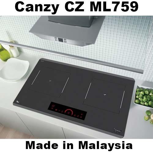 Bếp từ Canzy CZ ML759 nhập khẩu malaysia