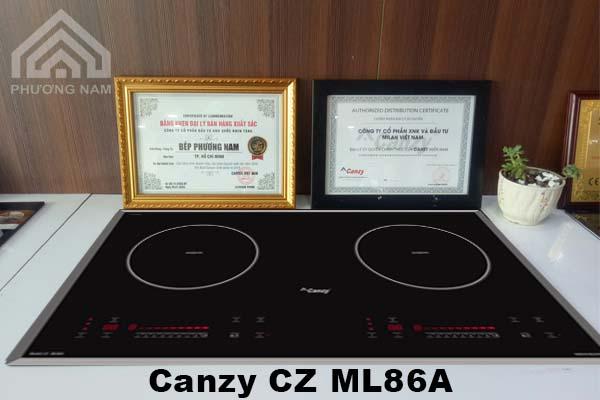 Bếp từ Canzy CZ ML86A chính hãng giá tốt