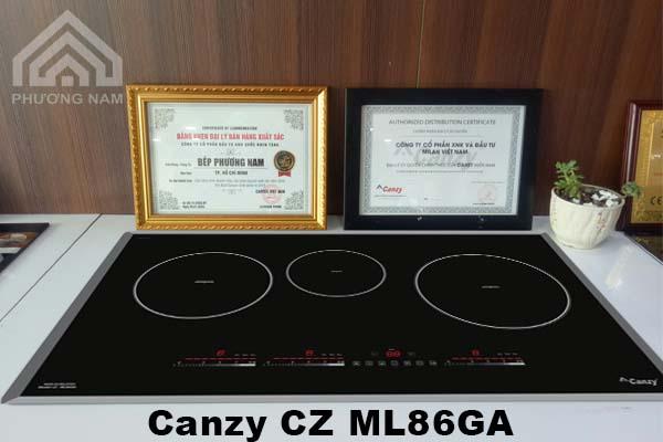 Bếp từ Canzy CZ ML86GA chính hãng giá tốt
