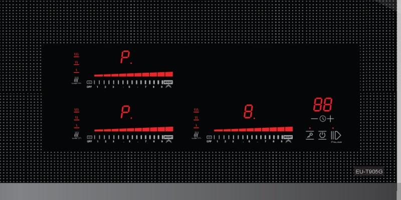 Bảng điều khiển củabếp từ Eurosun EU-T905G