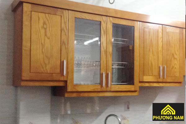 Cửa tủ bếp dạng đóng mở